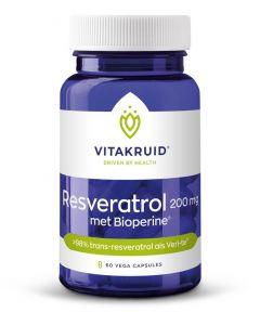 Resveratrol 200 mg met bioperine