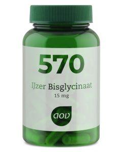 AOV 570 IJzer bisglycinaat 15 mg 90vc