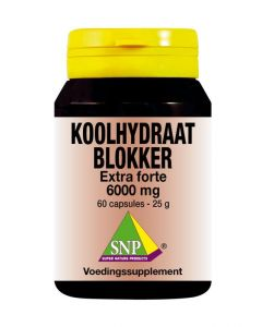 SNP Koolhydraat blokker extra forte 6000 mg 60 capsules