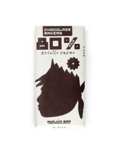 Chocolate Makers Awajun bar 80% puur 90g
