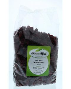 Bountiful Cranberry bessen 1000g