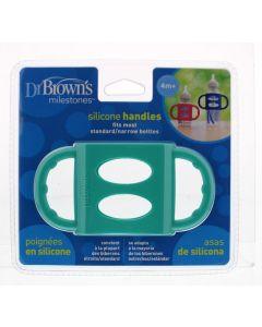 Siliconen handvat voor standaard hals turquoise