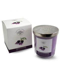 Green Tree Geurkaars french lavender 200g