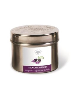 Green Tree Geurkaars french lavender 150g