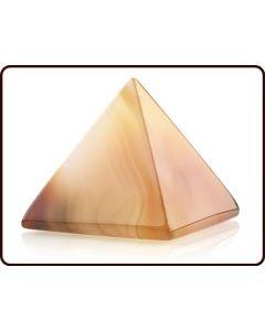 Ruben Robijn Piramide 30 mm carneool 1st