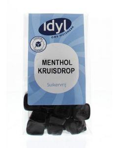 Idyl Menthol kruisdrop suikervrij 110g