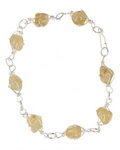 Ruben Robijn Armband/enkelband citrien edelsteen wire 1st
