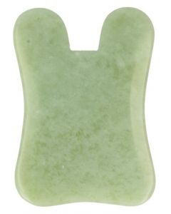 Ruben Robijn Guasha massage schraper rechthoek jade 1st