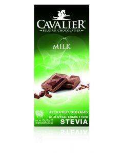 Chocolade milk gezoet met stevia
