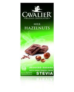 Chocolade milk/hazelnut gezoet met stevia