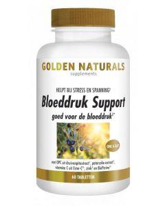 Golden Naturals Bloeddruk support 60tb