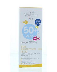 Kids skin protect fluid 50+ parfumvrij Louis Widmer 100ml