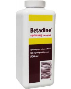 Jodium oplossing 100 mg/ml