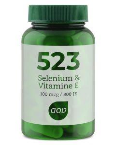 AOV 523 Selenium 100 mcg / vitamine E 300IE 60ca