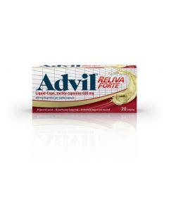 Advil reliva liquid caps 400mg