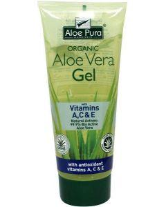 Aloe pura aloe vera gel organic vitamine A C E