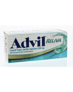 Advil liquid capsules 200 40 capsules