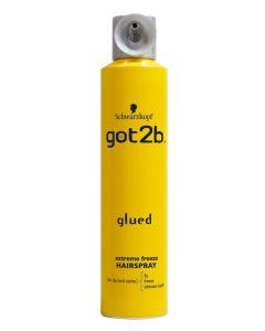 Glued extreme freeze haarspray