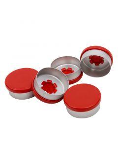 Blockland Aluminium felskap rood kombi/r rood 20 mm 1 stuks