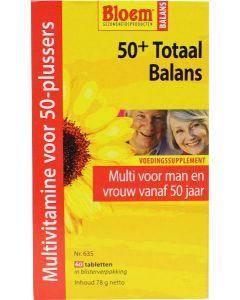Bloem 50+ Totaal Balans 60 tabletten