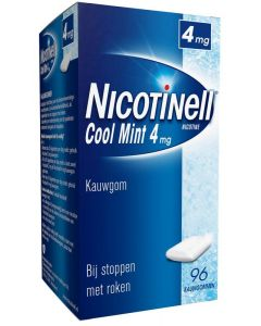 Kauwgom cool mint 4 mg