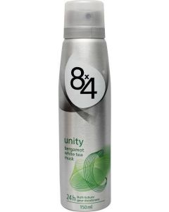 8X4 Deododorant spray unity 150 ml