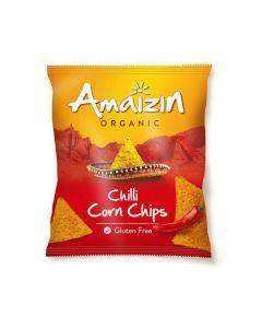 Corn chips chili bio