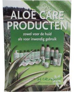 Aloe care poster A3