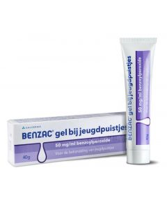 Gel 50mg/ml benzoylperoxide