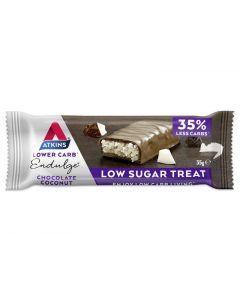 Atkins Endulge chocolade coconut reep 35g
