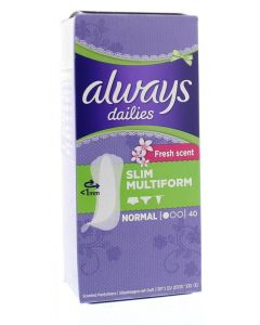 Multiform fresh scent liner