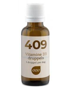 AOV 409 Vitamine D3 druppels 25 mcg 15ml