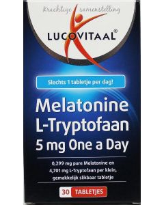 Melatonine L-tryptofaan 5 mg