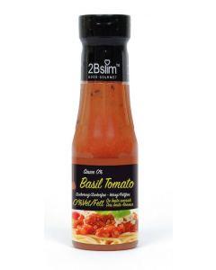 2bslim Tomaat basilicumsaus 250 ml