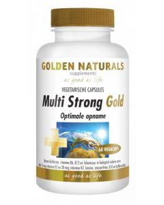 Golden Naturals Multi strong gold 60vc