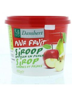Damhert Fruitstroop appel/peer 450 gram