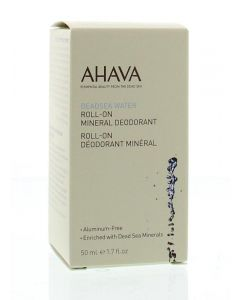 Woman deodorant dead sea minerals