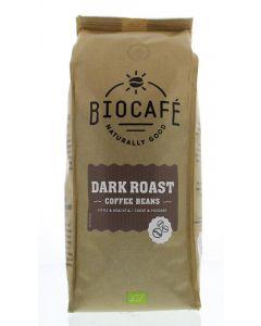 Koffiebonen dark roast bio