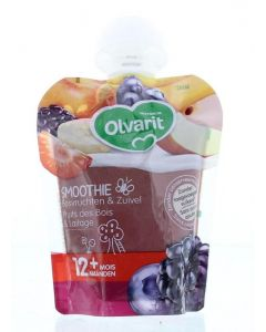 Olvarit Smoothie bosvruchten yoghurt 12M866 90g