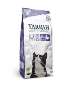Kat droogvoer graanvrij gesteriliseerde kat bio