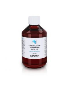 Bipharma Natriumfluoride mondspoeling 0,05% FNA 500ml