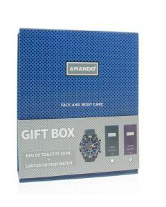 Amando Geschenkverpakking mystery EDT + Horloge 1set