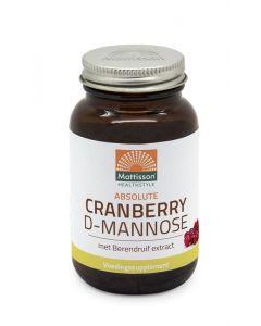 Cranberry D-mannose met berendruif extract