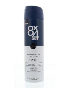 8X4 Deodorant spray No 10 male 150ml