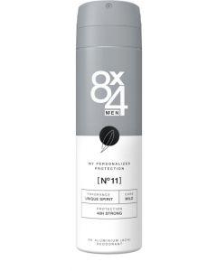 8X4 Deodorant spray No 11 male 150ml