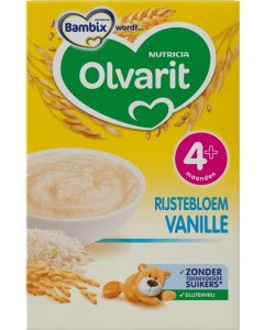 Rijstebloem vanille 4M+