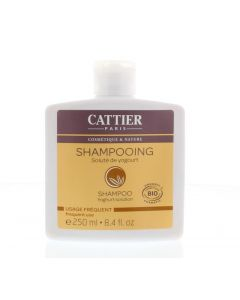 Shampoo dagelijks yoghurt