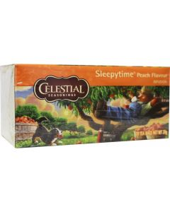 Sleepytime peach herb tea