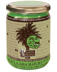 Gula java matcha + vitamine D bio