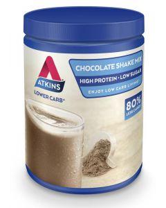 Atkins Shake mix chocolade 370g